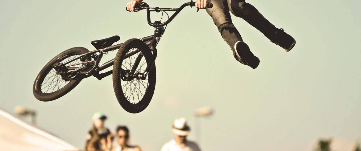 freestyle bmx sprong